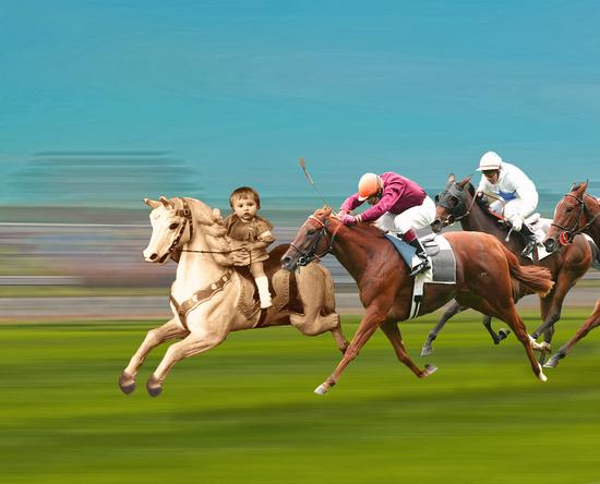 The Race by tzigone