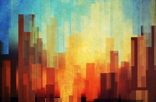 Urban Sunset by DejaReve