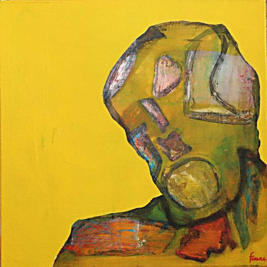 visage by Pierre-Michael Faure