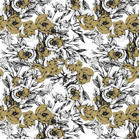 Pattern flowery 03 by mmartabc