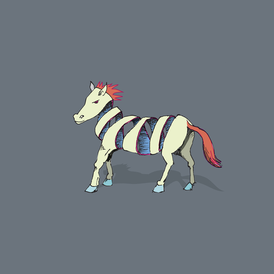 Rock Zebra by Alex Xela