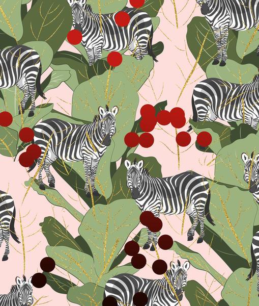 Zebra Harem by Uma Gokhale