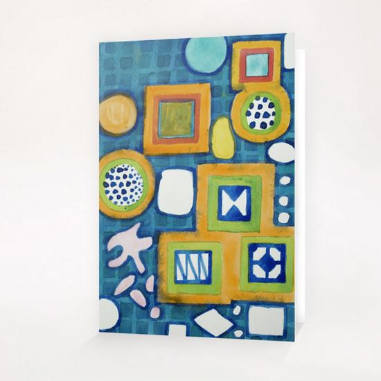 Cluster of Wall Objects Greeting Card & Postcard by Heidi Capitaine