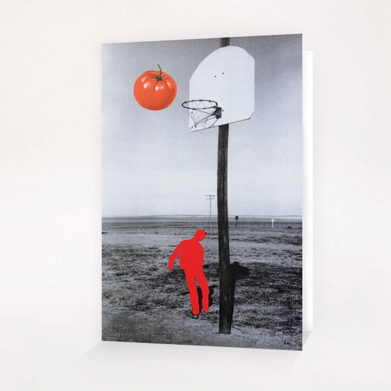 Tomato Greeting Card & Postcard by Lerson