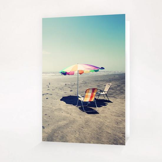Beach Day Greeting Card & Postcard by Trish Mistric