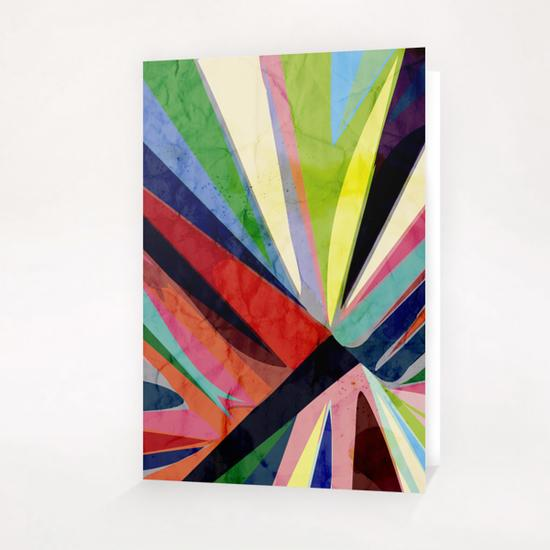 Centered Colors Greeting Card & Postcard by Vic Storia
