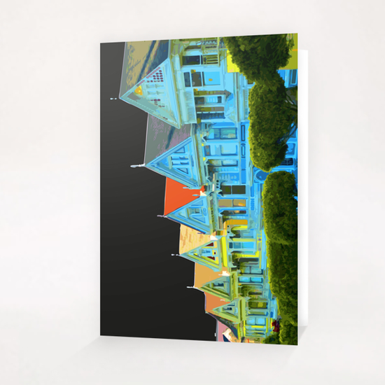Alamo Square Greeting Card & Postcard by Vic Storia