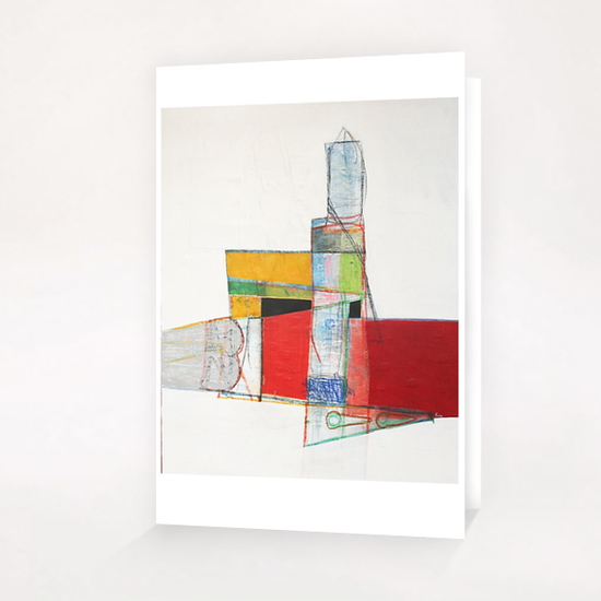 Tower Greeting Card & Postcard by Pierre-Michael Faure