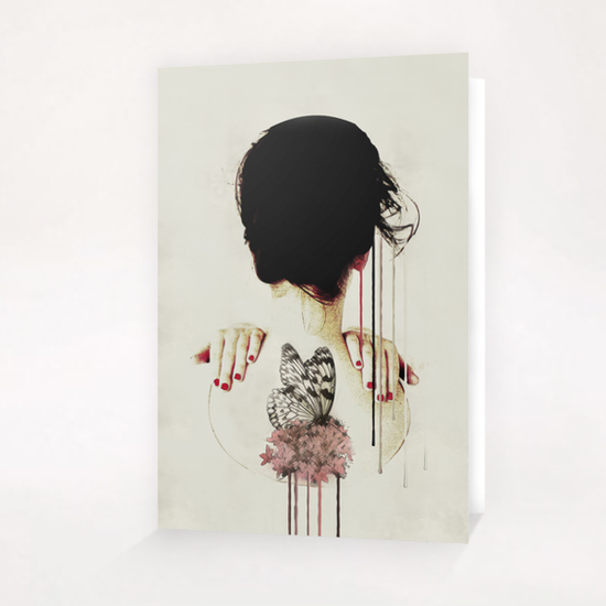 Portrait - Backage Greeting Card & Postcard by Galen Valle