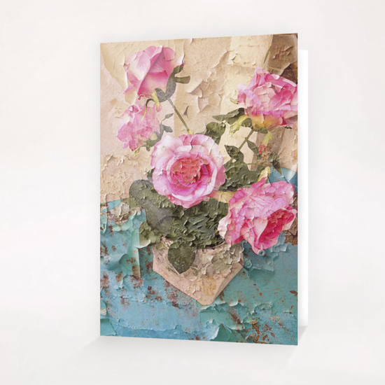 Roses de Lourmarin Greeting Card & Postcard by Ivailo K