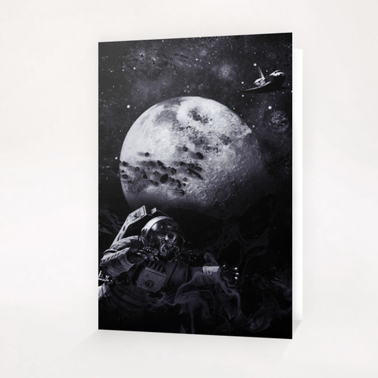 Dark of the Moon Greeting Card & Postcard by dEMOnyo