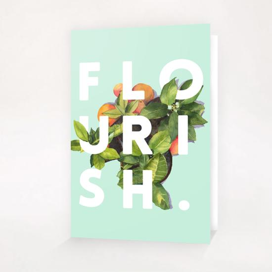 Flourish Greeting Card & Postcard by Uma Gokhale
