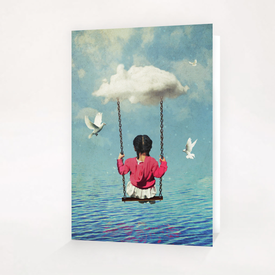 the traveler Greeting Card & Postcard by Seamless
