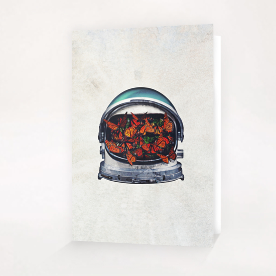 helmet (within) Greeting Card & Postcard by Seamless