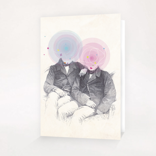 Goncourt Brothers Greeting Card & Postcard by tzigone