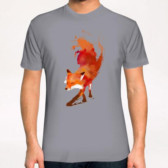 Vulpes Vulpes T-Shirt by Robert Farkas