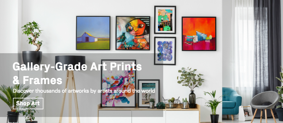 Gallery-Grade Art Prints & Frames