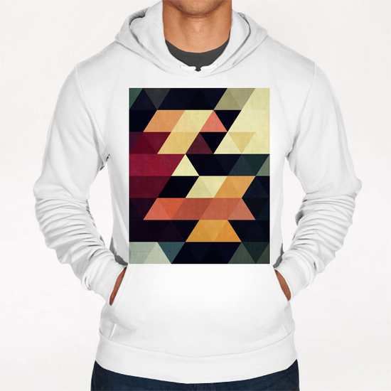 Pattern cosmic triangles Hoodie by Vitor Costa