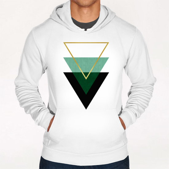 Geometric and golden art I Hoodie by Vitor Costa