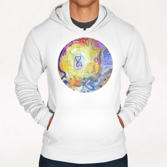 Creation with Wings Hoodie by Heidi Capitaine