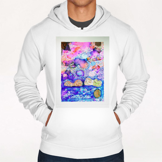 Cloud Formation Hoodie by Heidi Capitaine