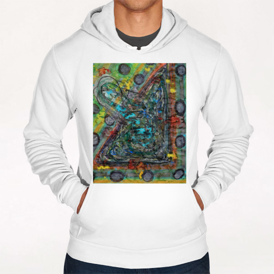 Color Outbreak  Hoodie by Heidi Capitaine