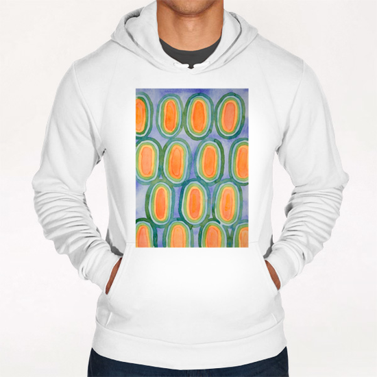 Ovals In Front Of The Sky Hoodie by Heidi Capitaine