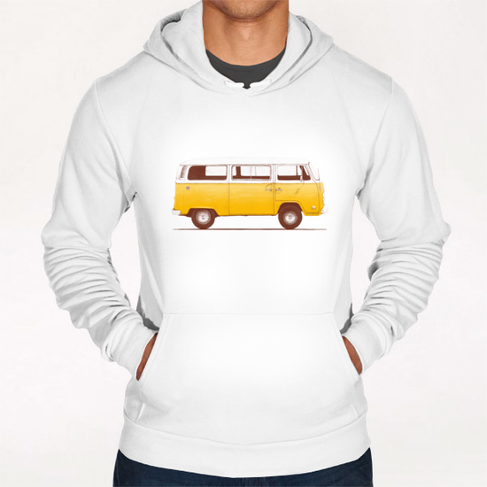 Yellow Van Hoodie by Florent Bodart - Speakerine