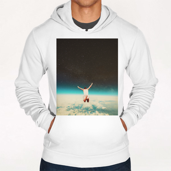 Falling With A Hidden Smile Hoodie by Frank Moth