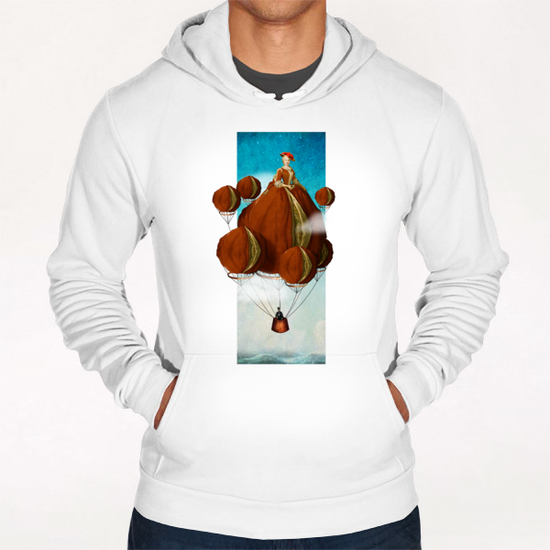 Flying Away Hoodie by DVerissimo
