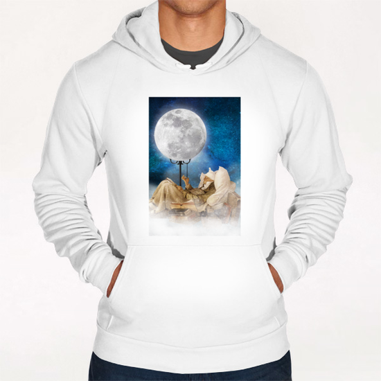 Good Night Moon Hoodie by DVerissimo