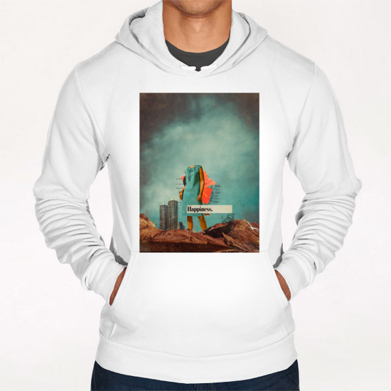 Happiness Here Hoodie by Frank Moth