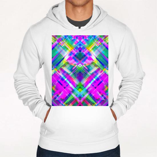 Colorful digital art splashing G469 Hoodie by MedusArt