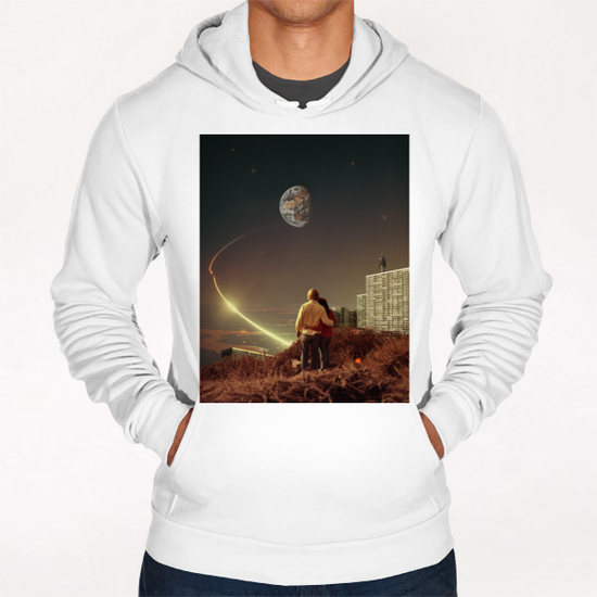 We Used To Live There, Too Hoodie by Frank Moth