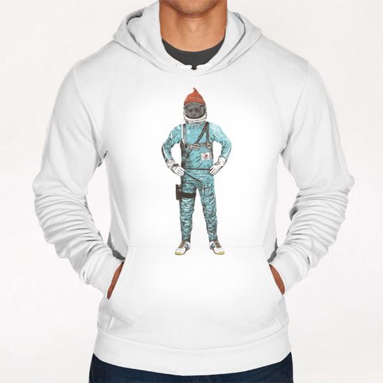 Zissou In Space Hoodie by Florent Bodart - Speakerine