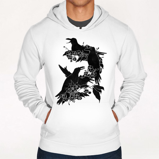 A Feast For Crows Hoodie by Tobias Fonseca