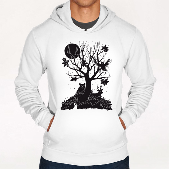 Autumn Forest Hoodie by Tobias Fonseca