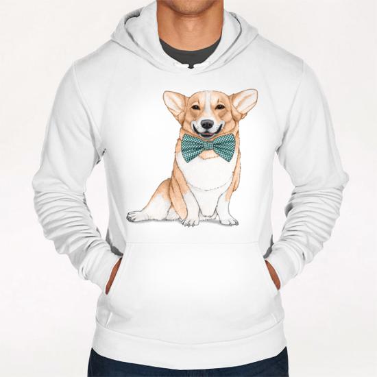 Corgi Dog Hoodie by Barruf