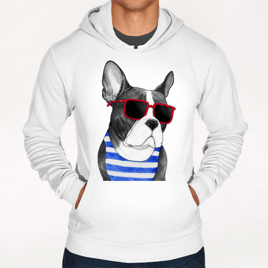 Frenchie Summer Style Hoodie by Barruf