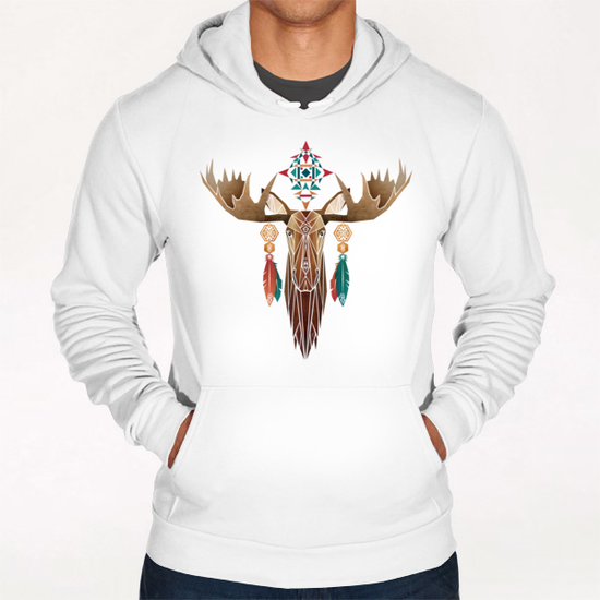 moose Hoodie by Manoou