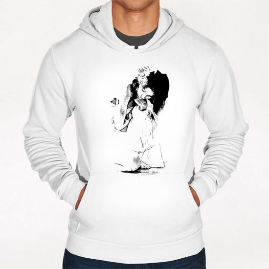 Portrait - Myths Hoodie by Galen Valle