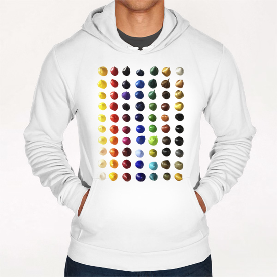 Color Points Hoodie by Ivailo K