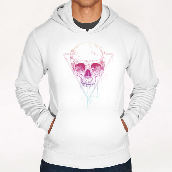 Skull in triangle Hoodie by Balazs Solti