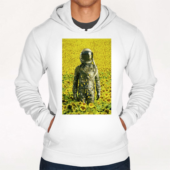 Stranded in the sunflower field Hoodie by Seamless