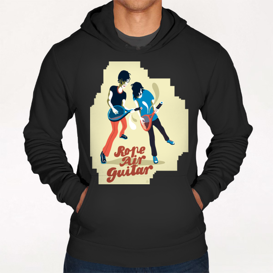 ROPE AIR GUITAR Hoodie by Francis le Gaucher