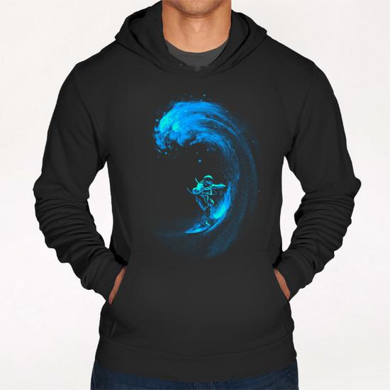 Space Surfing Hoodie by Nicebleed