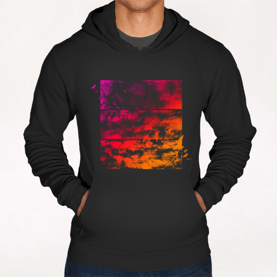 Across The Atmosphere Hoodie by Tobias Fonseca
