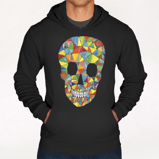 Rainbow Skull Hoodie by Malixx