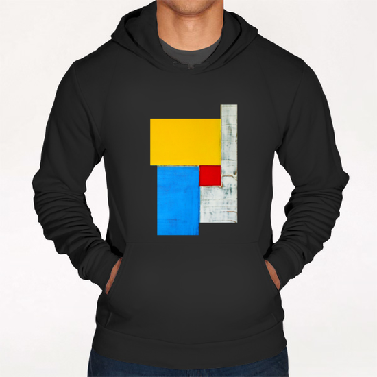 Red Square Hoodie by Pierre-Michael Faure