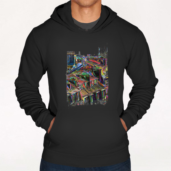 Roofs in Paris Hoodie by Malixx
